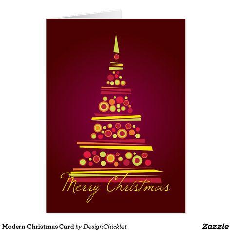 Modern christmas card custom christmas cards pinterest modern modern christmas card m4hsunfo