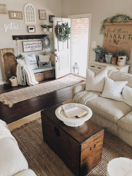Top Ten Items To Help Create A Cozy And Inviting Home Cozy Home Farmhouse Farmho Cozy Living Room Design Farmhouse Decor Living Room Farm House Living Room