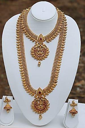 c2d3c144d3a2d Craftsvilla Maroon Laxmi Necklaces Set | Jewellery | Necklace set ...