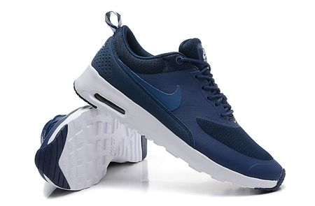 nike navy blue air max thea