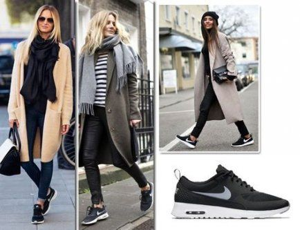 Trendy Sneakers Outfit Autumn Nike