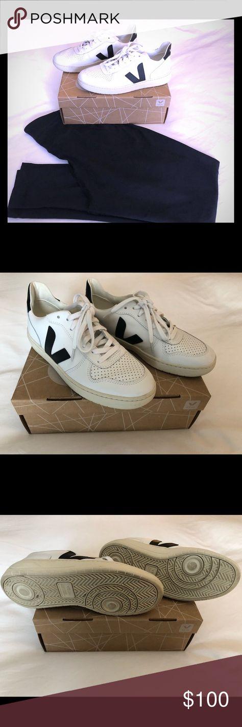 59c9205a517c Veja V10 Sneaker Black White 7 The hard to find Veja V10 sneaker in white