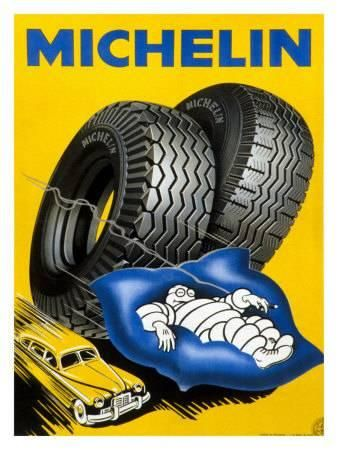 Michelin Automotive Tire Giclee Print Allposters Com In 2021 Vintage Advertisements Vintage Ads Retro Advertising