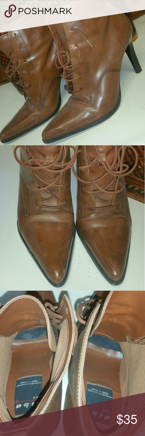 db212920a1 Vintage Diba booties These are a very nice pair of leather vintage boots.  They are