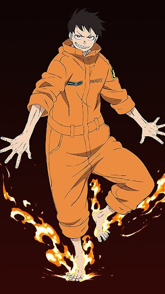 Fire Force Shinra Kusakabe 4k 3840x2160 Wallpaper Shinra Kusakabe Cute Anime Boy Anime Guys