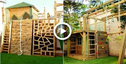 26 Best Backyard Playground Landscaping Ideas For Kids Backyard