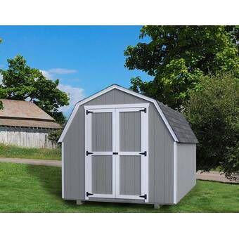 Riverside 10 Ft W X 12 Ft D Wood Storage Shed Wood Shed Kits Barns Sheds Wood Storage Sheds