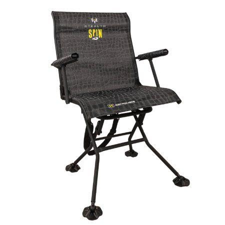 Stealth Spin Chair Walmart Com In 2020 Hunting Chair Portable Chair Chair