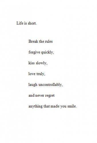 Smile Quotes Tumblr : smile, quotes, tumblr, Trendy, Quotes, Tumblr, Short, Mottos, Regrets, Regret, Quotes,, Love,