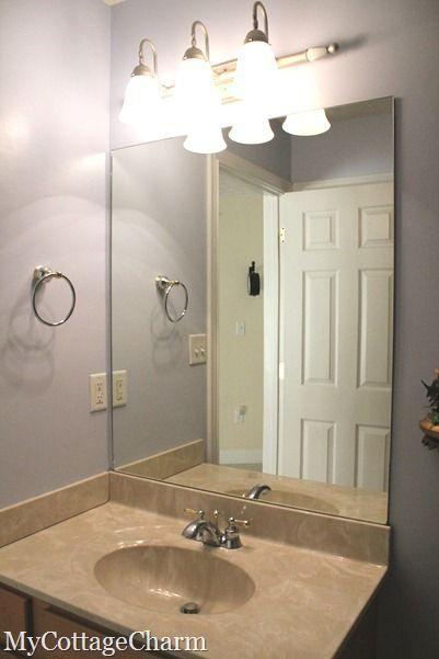 How To Add Molding To Mirrors Home Goods Decor Bathroom Decor Decor