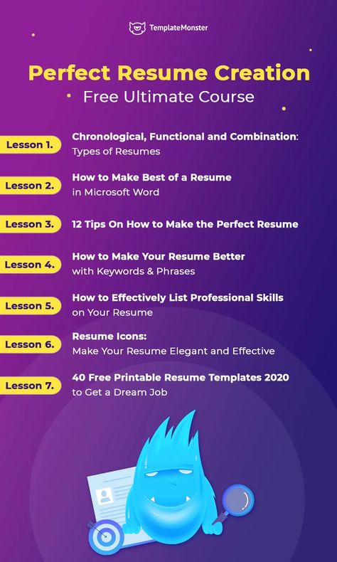 How to Create a Perfect Resume: Ultimate Course