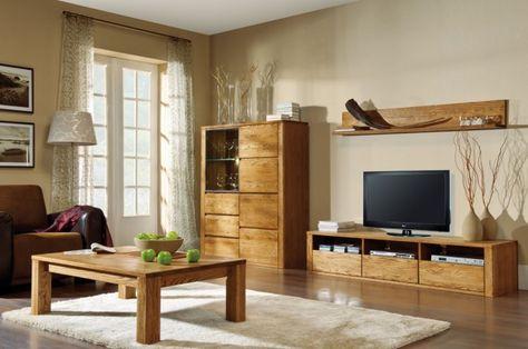 20 best TV Stands images on Pinterest Oak tv stands, Living room - moderner wohnzimmerschrank mit glastüren und led beleuchtung