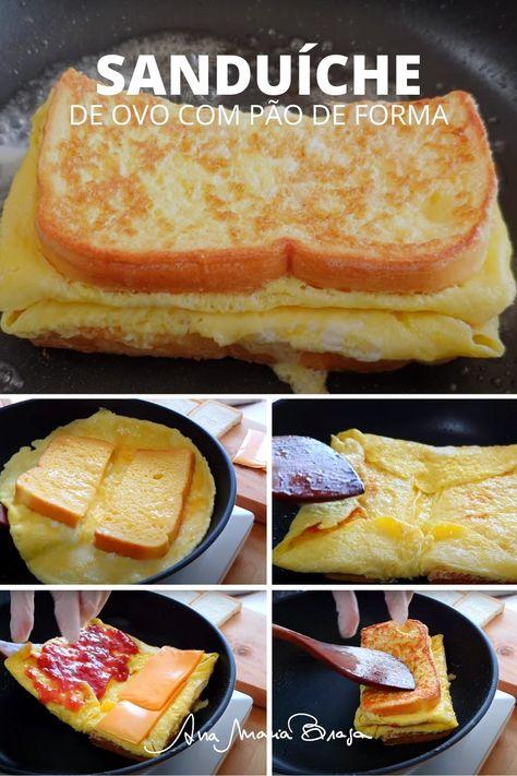 Fazer um Sanduíche de ovo com pão de forma parece algo simples, mas essa receita vai te surpreender. Ela fez o maior sucesso na internet e já teve mais de 30 milhões de visualizações no canal do influencer Meliniskitchen. Vem ver e faça hoje!