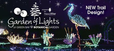 Garden Of Lights Green Bay Custom Green Bay Botanical Garden Garden Of Lights $9 For Adults Horse Decorating Inspiration