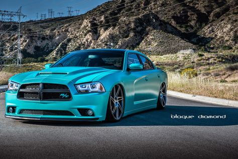 2013 Dodge Charger Daytona with 22 Inch BD-1's in Matte Graphite Machine Face | BLOG
