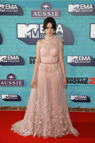 Camilla Cabello attends the MTV EMAs 2017.