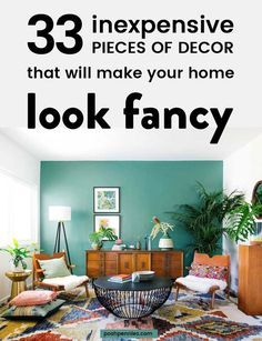 How to Decorate with No Money (or on a very tight budget)