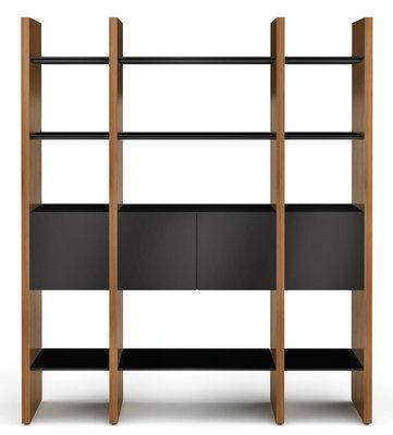 Bookcase Bookshelf Shelving Storage Display Unit Modern Home Office ZENO
