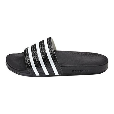 sale retailer 2f6bd 9e2b2 Men s Adidas Originals Adilette Slides Core Black