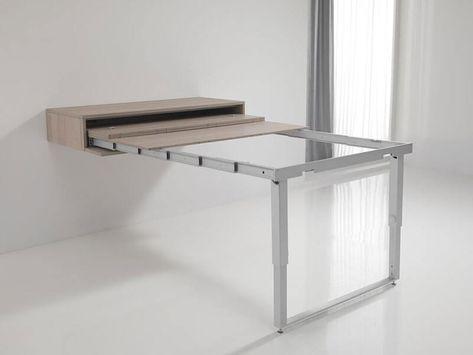 Ikea Tavolo A Scomparsa.Tavolo Allungabile Alice Consolle Estraibile A Muro A Scomparsa