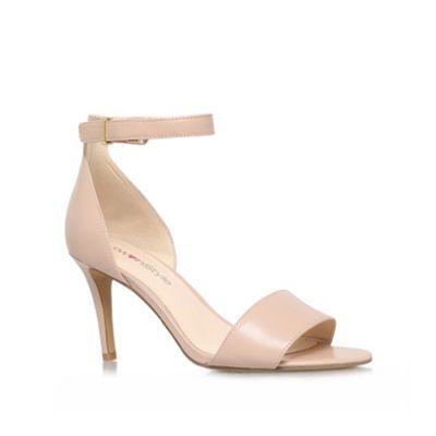 f51c4ee6b Nine West Nude 'izzy' high heel sandals- at Debenhams.com
