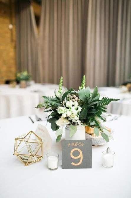 57 Ideas Flowers Arrangements Wedding Diy Budget Modern Wedding Decor Geometric Wedding Decor Wedding Table Centerpieces