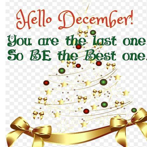 lastmonthof2017 Welcome December...