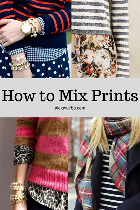 I need to learn how to mix prints! Love this look