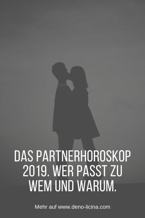 Das Partnerhoroskop 2019. Wer passt zu Wem und warum