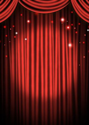 Red Curtain Spotlight Stage Background In 2020 Red Curtains Stage Curtains Stage Background