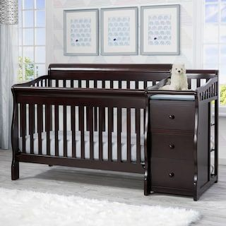 Dream On Me Marcus Changing Table Dresser Cribs Convertible Crib Delta Children