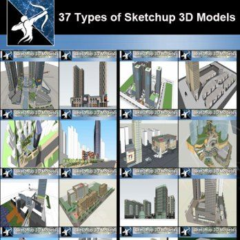 Best 37 Types Of Commercial Office Building Sketchup 3d Models