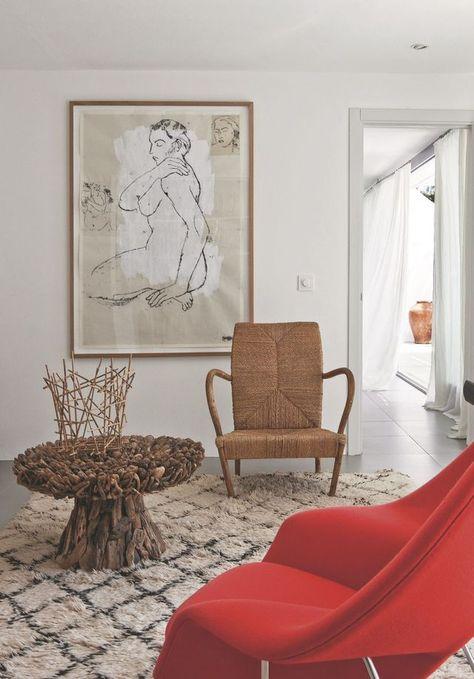 Villa En Mediterranee Face A La Mer Rustic Vintage Chic