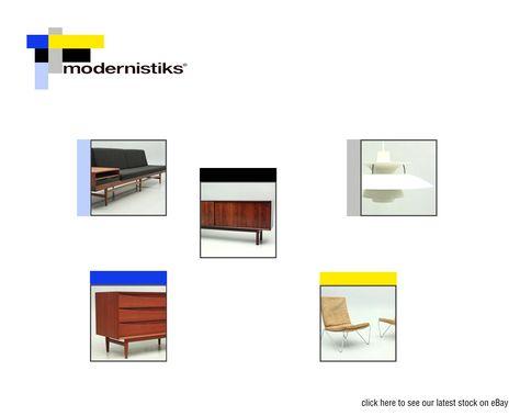 Modernistiks retro furniture