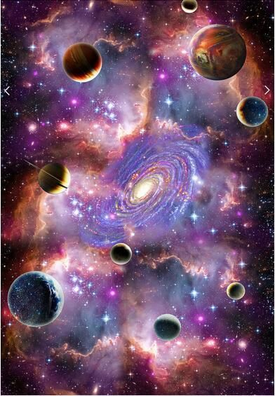 Space Galaxy 3d Ceiling Ceiling Mural Large Mural Wallpaper Living Room Bedroom Wallpaper Painting Tv Backdrop 3d Wallpapers From Lu1688 23 92 Dhgate Com Galaxy Wallpaper Galaxy Painting Ceiling Murals