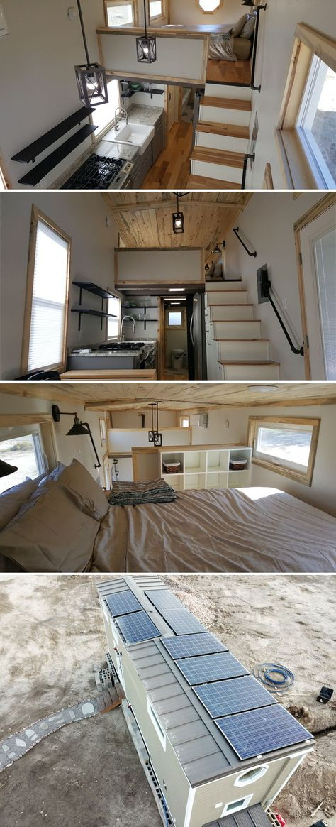 Tiny Solar Home by Alpine Tiny Homes