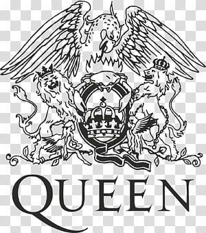 Queen Logo Queen Rocks Musical Ensemble Logo Queen Transparent Background Png Clipart Tatuaje De Freddie Mercury Logos De Bandas Serigrafia En Playeras