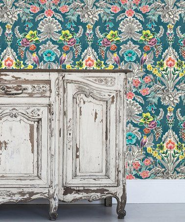 Look What I Found On Zulily Teal Summer Love Peel Stick Wallpaper Zulilyfinds Peel And Stick Wallpaper Pattern Wallpaper Wallpaper