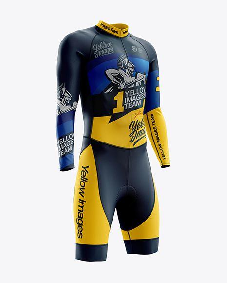 Download Men S Cycling Skinsuit Ls Mockup Right Half Side View In Apparel Mockups On Yellow Images Object Mockups Clothing Mockup Design Mockup Free Shirt Mockup
