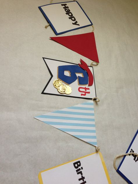 Jake and the Neverland Pirates Birthday Banner