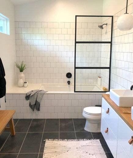 4 Money Saving Renovation Hacks One Design Blogger Swears By Bathrooms Remodel Bathroom Mirror Design Kitchen Bathroom Remodel