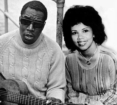 candi staton and Clarence Carter
