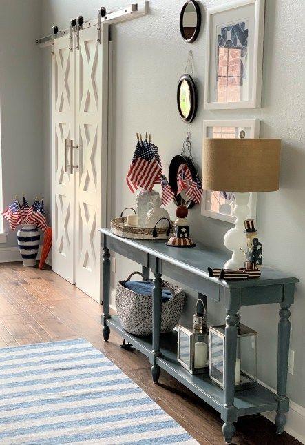 14 Easy Patriotic Memorial Day Decorating Ideas Home Decor Decor Fourth Of July Decor
