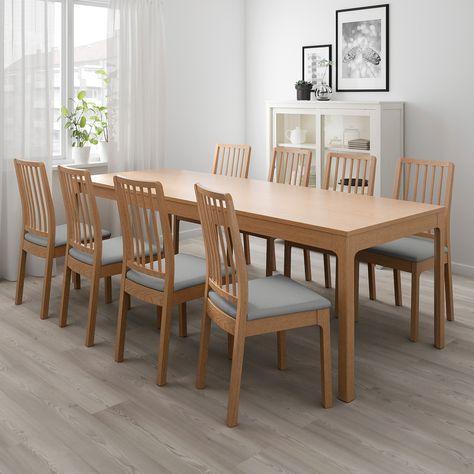 Tavoli Allungabili Da Cucina Ikea.Ekedalen Ausziehtisch Eiche Nel 2020 Tavolo Allungabile Ikea