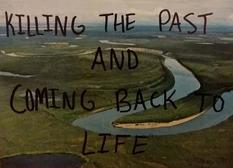 I left the past knowing that what I am about to go through will be far more beautiful