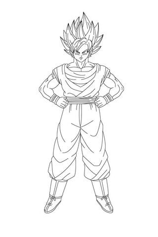 Pin By Jannet Solis Montano On Lucas In 2020 Goku Son Goku Coloring Pages