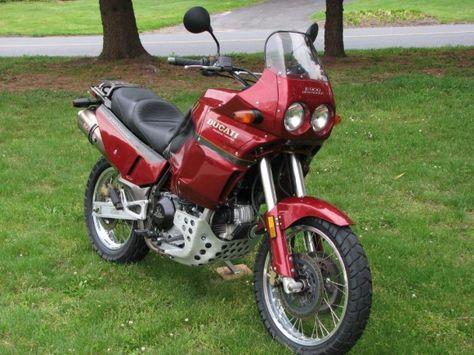 1994 Ducati Cagiva E 900 Elefant Moda Uomo Moda