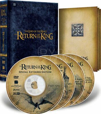 The Lord Of The Rings The Return Of The King Dvd 2004 4 Disc Set Extended Edition For Sale Online Ebay In 2020 Lord Lord Of The Rings Fellowship Of The Ring