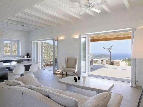 in Southern Aegean 4 Schlafzimmer, für bis zu 9 Personen Ruhig - schlafzimmer mediterran