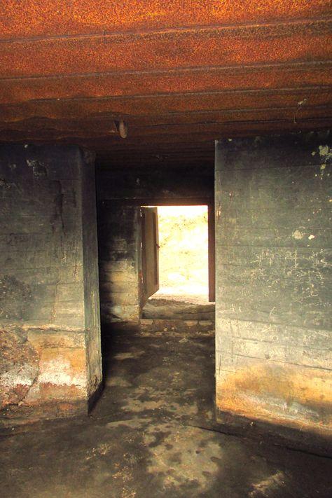 Inside a German bunker, Leusden.